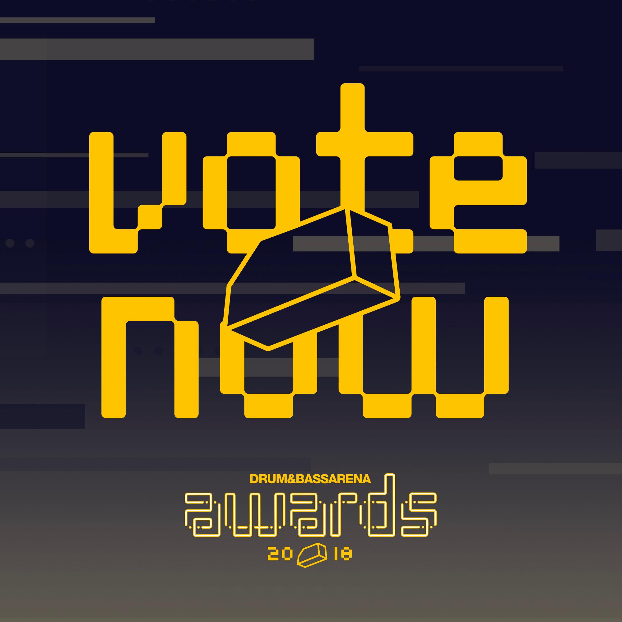 Vote Now - Drum&BassArena Awards 2018